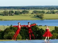 The Royal Danish Ballet dancing  in my neighborhood