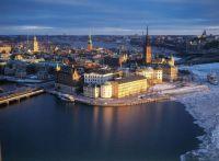 Stockholm at night - Winter