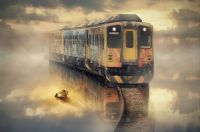 Train-on-the-water