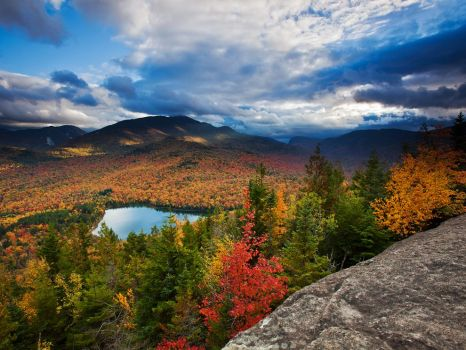 autumn vista, Adirondacks NY