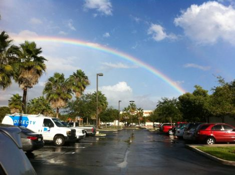 Somewhere over the Home Depot Rainbow
