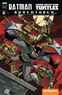 (@^◡^) batman & the teenage mutant ninja turtles! ☆ ~('▽^人)