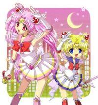 sailor moon and sailor mini moon age swap