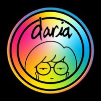Daria Logo with Colorful Gradient