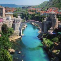 The bridge at Mostar version 2