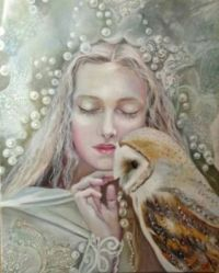 Snow Queen and Owl
