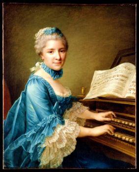 Marie Justine Benoite Duronceray, 1757