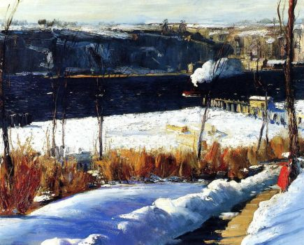 Winter Afternoon by George Bellows