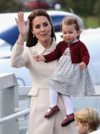 Kate,Princess Charlotte and Prince George