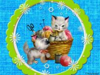 PUZZLE - Kittens At Play II