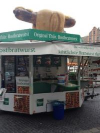 German Hot Dog Stand