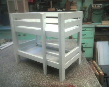 Bunk Bed for the twins  Dolls that is