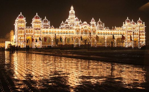 Palace in Mysore, India