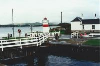 Argyll, Crinan Locks, South of Oban Autumn 96