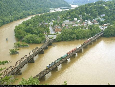 198-West Virginia, Harpers Ferry