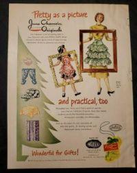 June Charroin Wataseal Plastic Fabric Advertisement 933