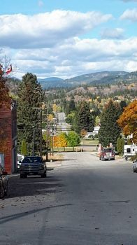 Fall in Greenwood, BC