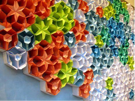 Anthropolgie windows - Papercrafts