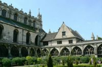 Cloister at Gloucester Cathedral