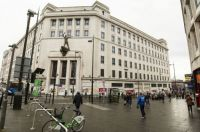 liverpool 28-10-2015 liverpool's first man in space - old lewis's department store h pan 01