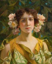 Francis Coates Jones (American, 1857–1932), Springtime