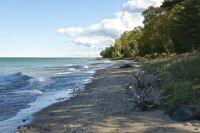 Lake Huron Beach - Michigan