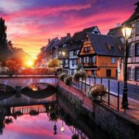 Rosy in Colmar, France