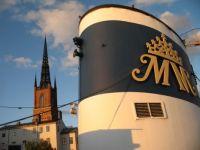 Malardrottningen (Barbara Hutton's Yacht) moored in Stockholm