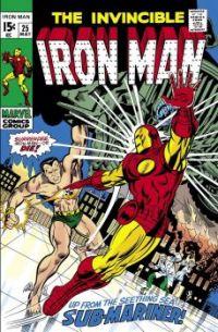 Iron Man versus the Sub-Mariner