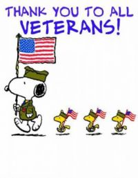 Thanks to All Veterans