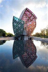 The Louis Vuitton Foundation. Paris, France