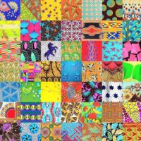 PATCHWORK AFRICAN WAX PRINTS 3