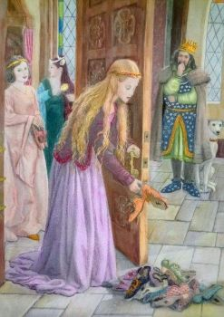 From The Twelve Dancing Princesses - Ruth Sanderson