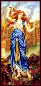 """Cassandra"" by Evelyn De Morgan"