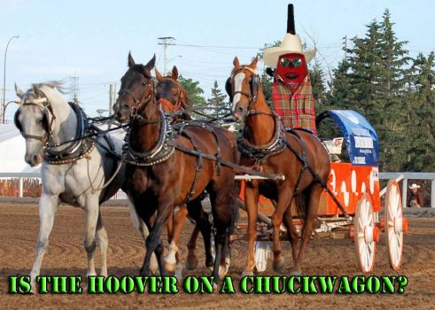 53) Is the Hoover on a Chuckwagon?