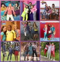 Disney Channel trios DC3, Good Hair Crew, The Sea Three and The ACEYs