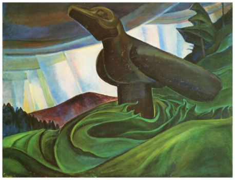 Big Raven (1931) ~ Emily Carr
