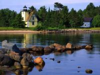 Bette Grise Lighthouse - Lake Superior - Upper Peninsula Michigan