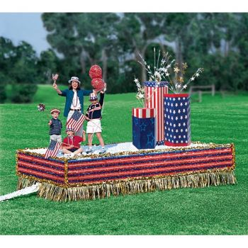 4th of July float supplies