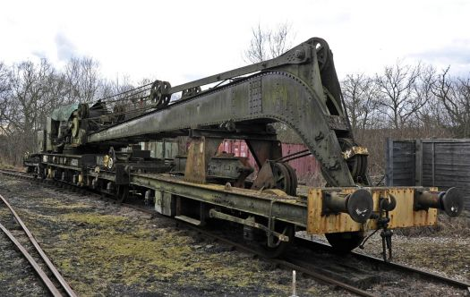 45 ton Steam Crane at Horsted Keynes