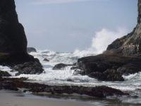 low tide at Bandon, Oregon