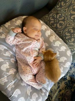 Baby and Friend