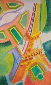 Eiffel Tower, Robert Delaunay, 1924