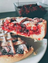 PERFECT PIE.......  WHERE'S THE WHIPPED CREAM? 3 of 4 - AND  FINALLY