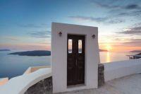 Sunset on Santorini Island, Greece