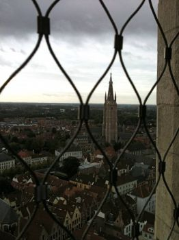 Brugges from top of Belfry Tower