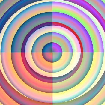 For Pat- Circles Within a Circle in a Much Smaller Size Than Yesterday's