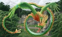 Quetzalcoatl in Flight