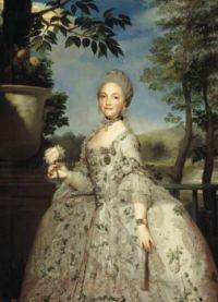 Anton Raphael Mengs María Luisa of Parma, Princess of Asturias circa 1765
