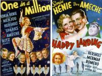 Sonja Henie ~ One in a Million ~ 1936 and Happy Landing ~ 1938